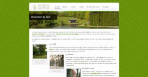 Page intérieure du site Arboretum de Neuvic d'Ussel