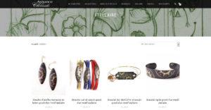 Page intérieure du site Astrance & Clémide