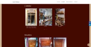 Galerie du site de l'ébéniste Louis Sebaux